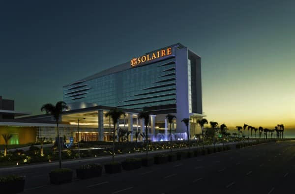A picture of the Solarie casino, Philippines, Manila. An illustration to my guide about gambling in the Philippines.