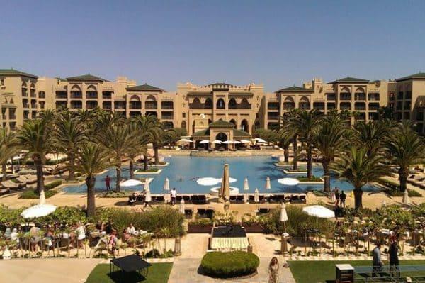 View of the Mazagan Casino and resort