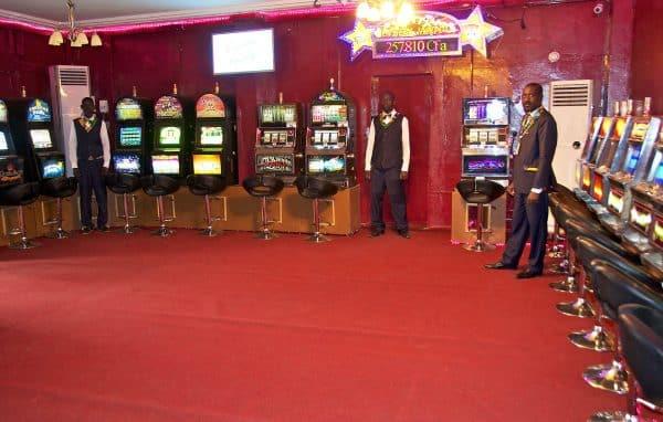 Slot machines at the Espace Prestige Vox in Niger