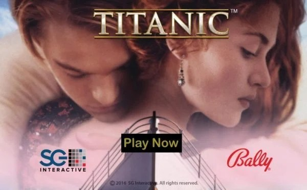 This is header image of the 2016 Titanic slot by Bally Technologies. On this page you can play this video slot for free, no registration required.