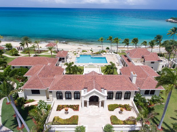 This is a picture of Trump Le Chateau des Palmiers, the most expensive mansion in the Collectivity of Saint Martin. On this page you can read about online poker, internet sports wagering, digital bingo, electronic lottery, and online poker legislation, taxation, and licensed sites that accept players from the country.