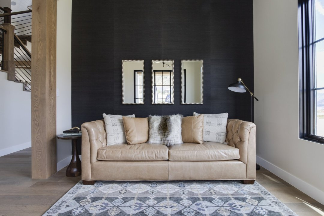 farmhouse black wall