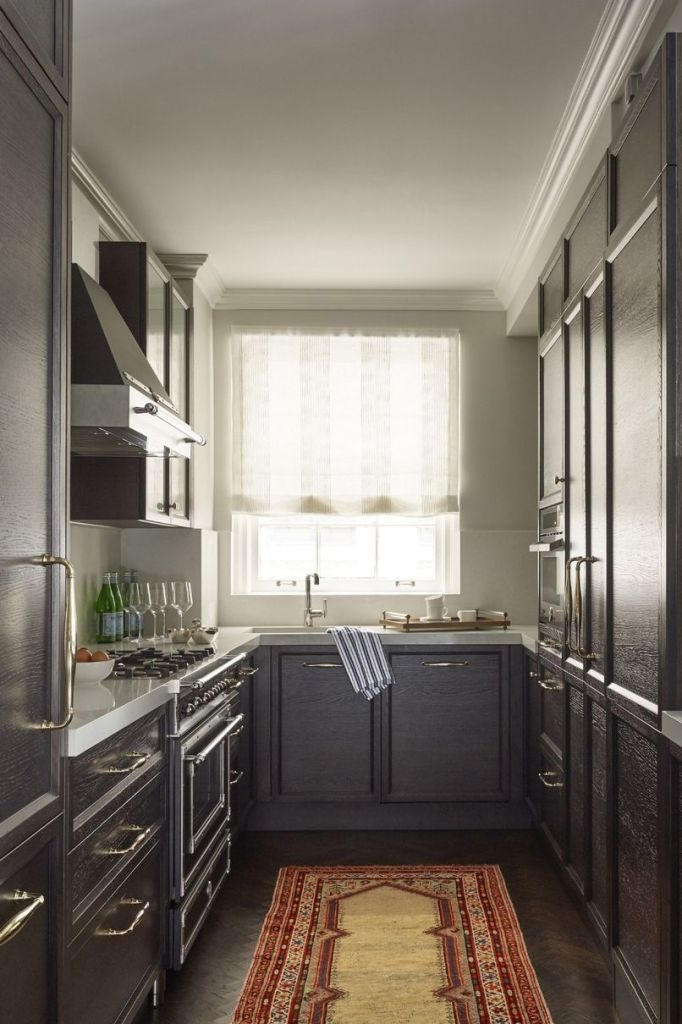 Emmy Rossum, New York City apartment, Bertazzoni hood and range, Scavolini cabinets