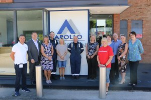 Adhesive manufacturer seals partnership with local children's charity