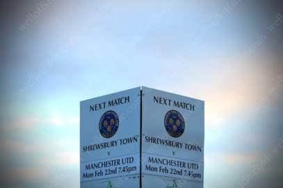 Shrewsbury Town v Man Utd