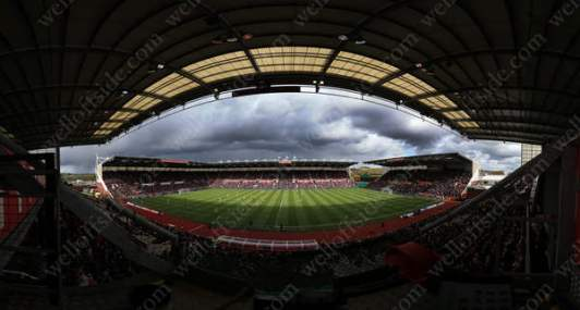 A general view of Stoke City's Britannia Stadium ahead of their match against Sunderland