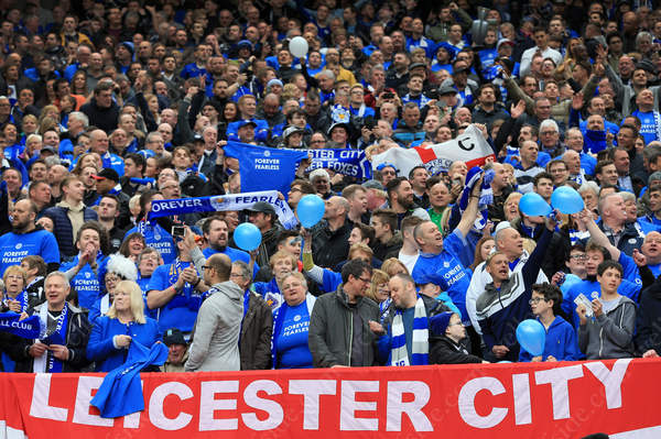 Leicester City fans are in high spirits ahead of their match away to Manchester United
