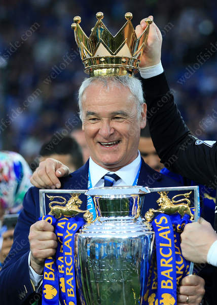 Leicester manager Claudio Ranieri, the King of Leicester