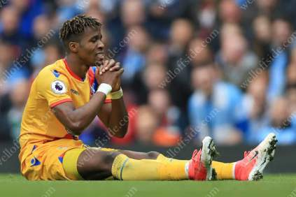 Wilfried Zaha of Palace prays in vain