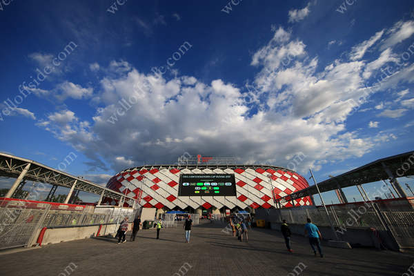 A general view of the Otkrytiye Arena in Moscow