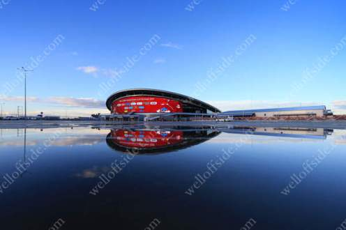 A general view of the Kazan Arena