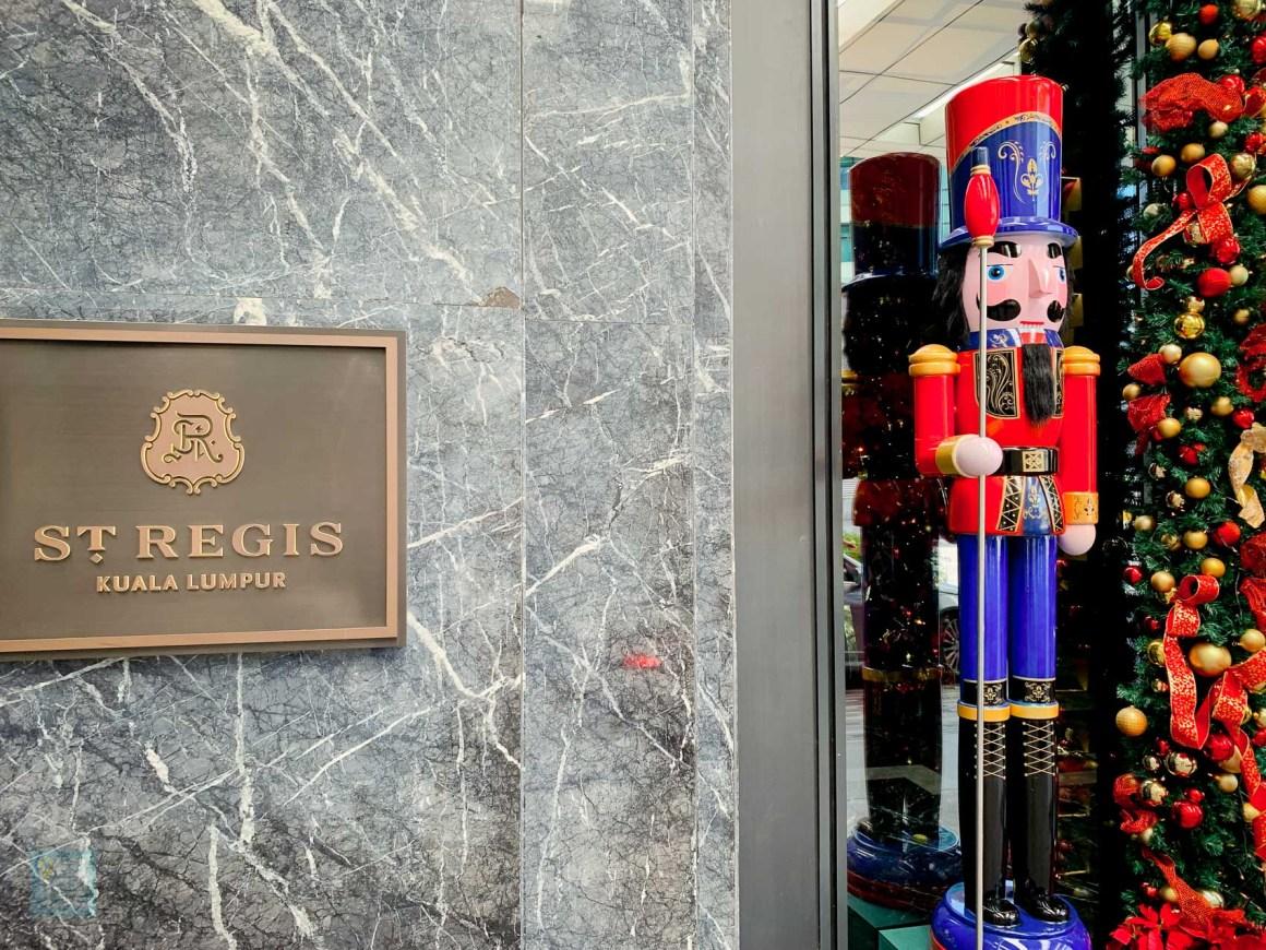 瑞吉吉隆坡酒店 酒店門面及大堂