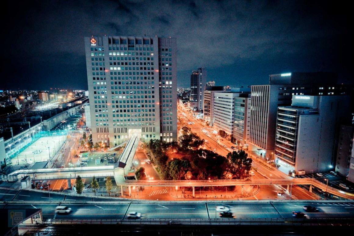 新大阪車站萬怡酒店 房間景觀
