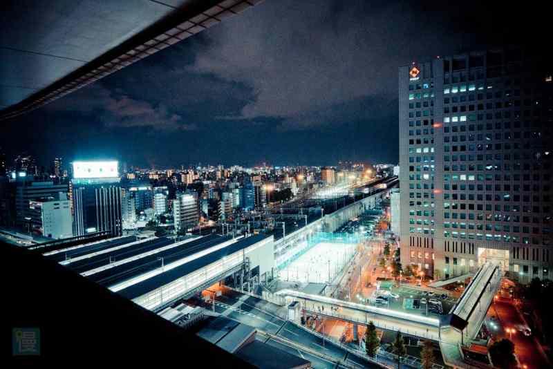 新大阪車站萬怡酒店 客房景色