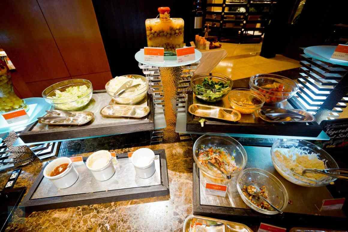 大阪喜來登都酒店 餐廳自助早餐 食物種類