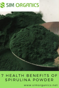 Health Benefits Of Spirulina Powder