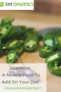 Jalapenos -A Miracle Food To Add On Your Diet