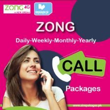Zong daily weekly monthly yearly call packages