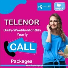 telenor daily weekly monthly yearly call packages