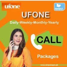 ufone daily weekly monthly yearly call packages