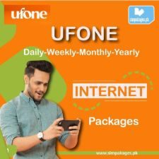 ufone daily weekly monthly yearly internet packages