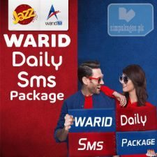 warid Daily sms packages
