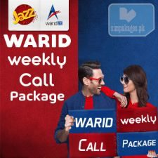 warid weekly call packages