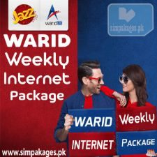 warid weekly internet packages
