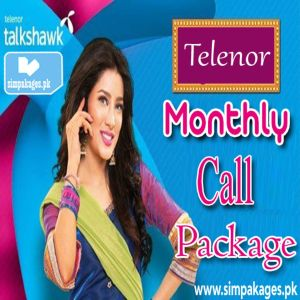 Telenor Monthly Call Package