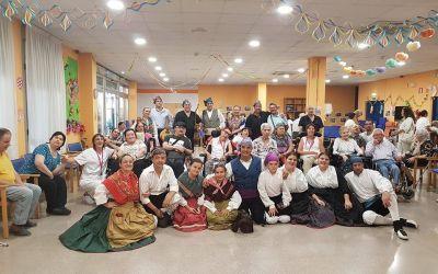 Festival de jota en Disminuidos Físicos de Aragón
