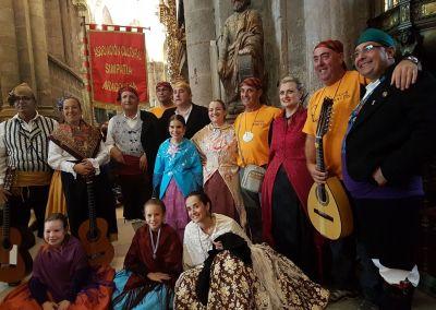 Misa Baturra en Santiago de Compostela