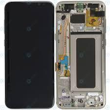 החלפת מסך Galaxy S8 Plus G955F זהב