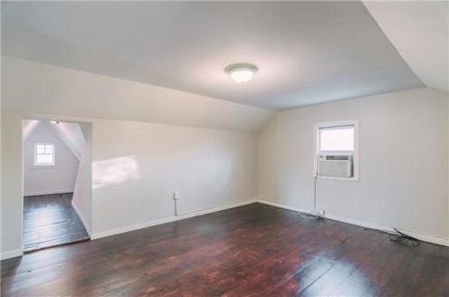 The room when we first saw the house.