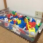 我が家のおもちゃ事情。ローテーションすれば、おもちゃは少なくても大丈夫。