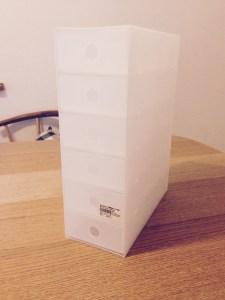 無印良品ポリプロピレン小物収納ボックス6段