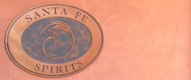 santa fe spirits sign