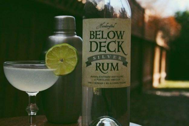 below deck silver rum and a daiquiri