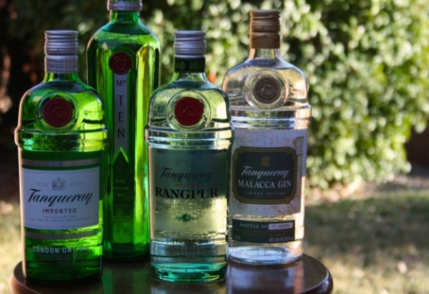 tanqueray flavors all bottles