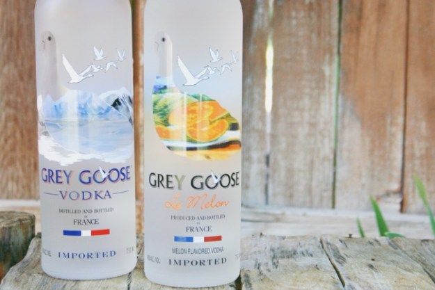 grey goose and grey goose le melon