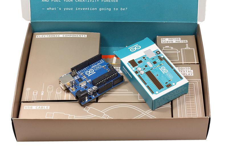 Un des nombreux kits que propose la communauté officielle Arduino