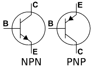 Schéma des transistors