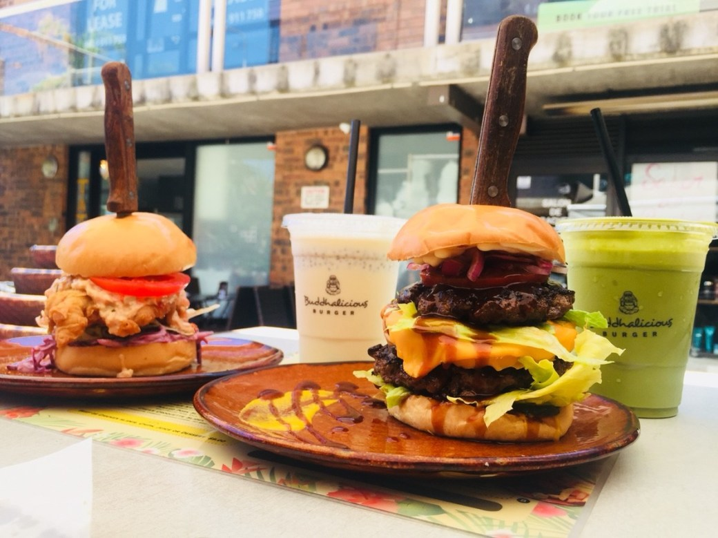 Buddhalicious Burger in Sydney - 1