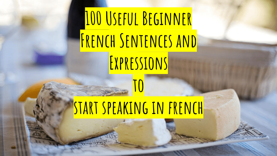 100 French Useful Sentences