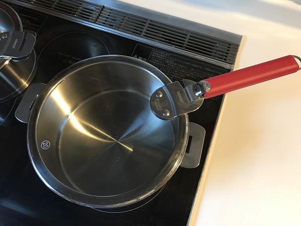 クリステル鍋取っ手