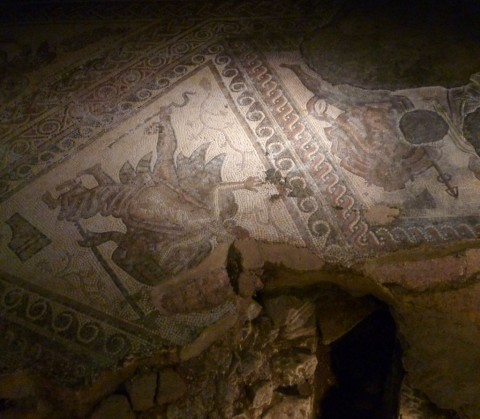 Nice work on the mosaics - in reasonably good nick after 1500 years