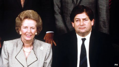Thatcher and Nigel Lawson