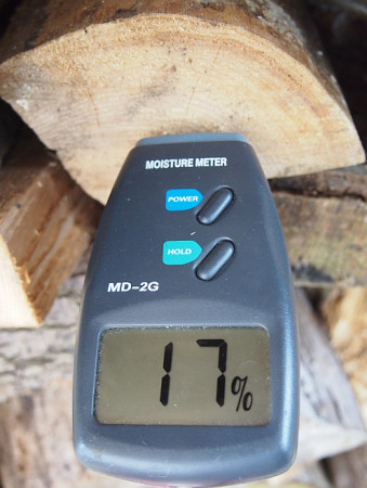 Log dropped off with us earlier this year and drying since