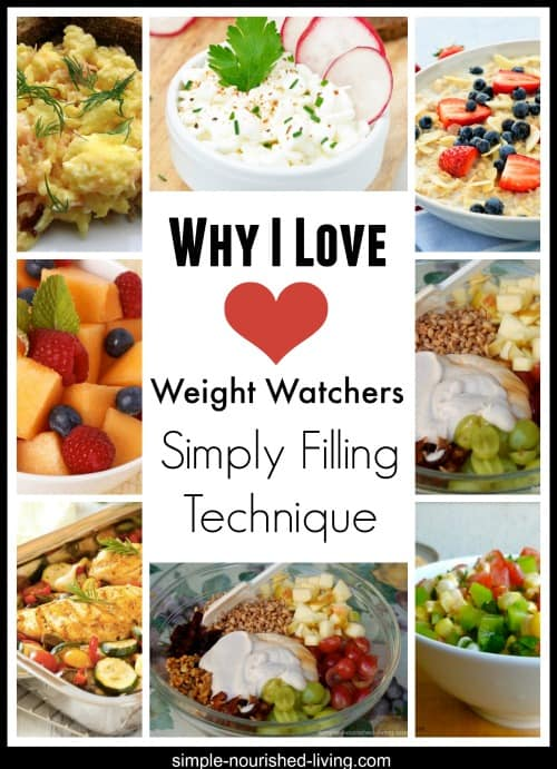 why I love weight watchers simply filling technique