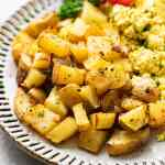 Breakfast Potatoes Recipe Crispy Tender The Simple Veganista