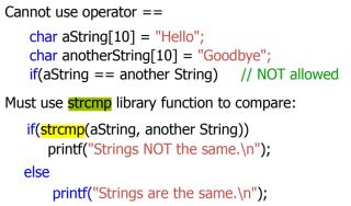 string copy in c